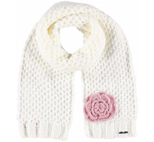 Rose scarf cream