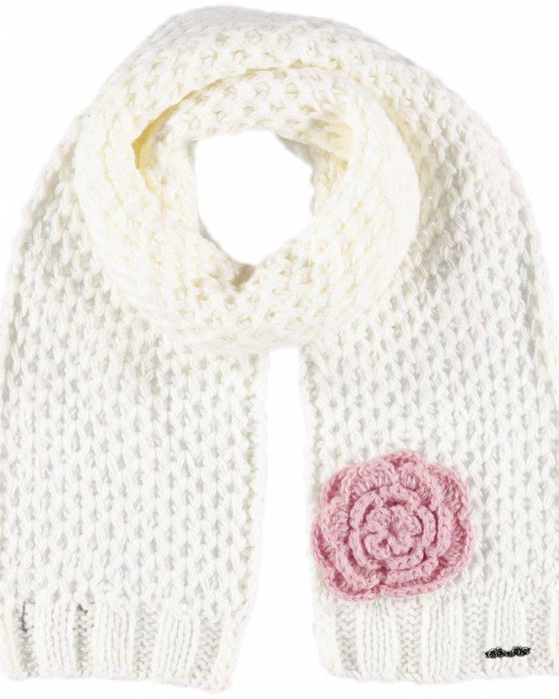 Barts Rose scarf cream