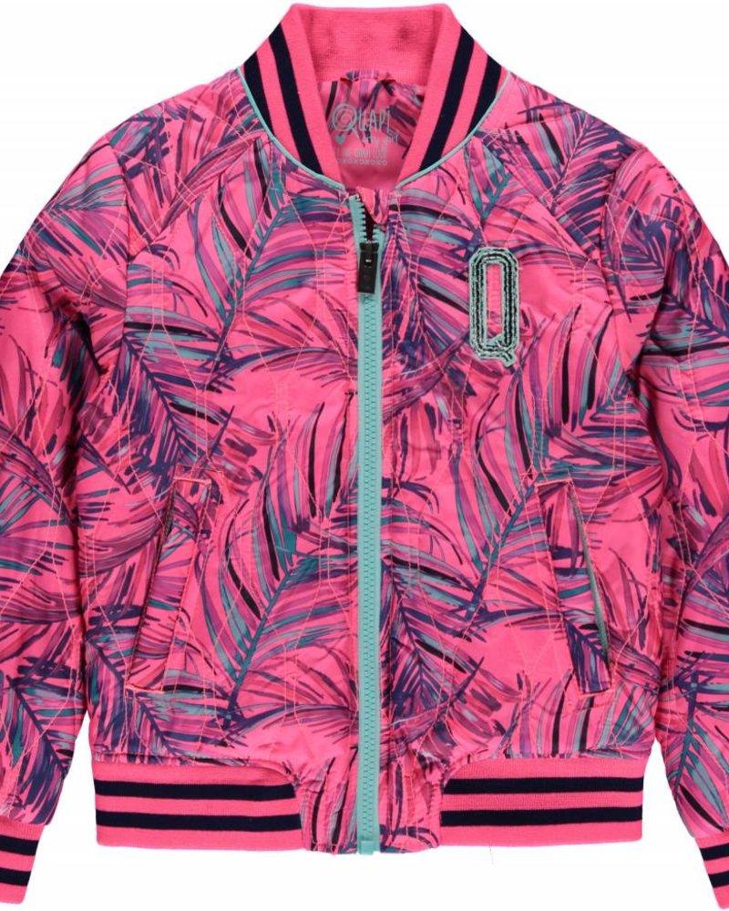 Quapi Klaasje jacket leaf