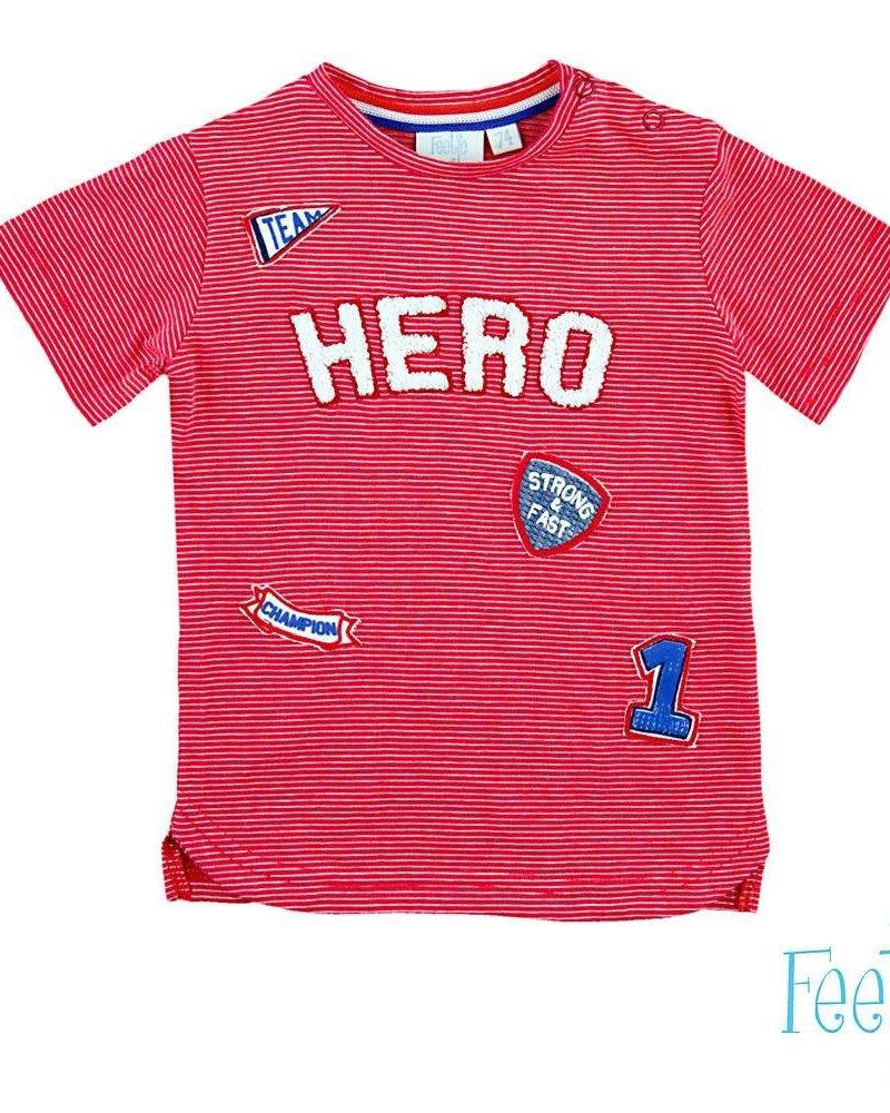 Feetje 51700380 t-shirt korte mouw hero gym