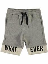 LMTD C13151931 Nlmovalde sweat shorts grey melange