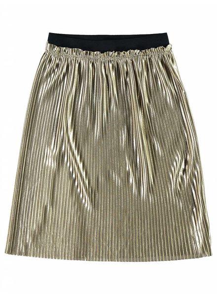 Name it Nkffilia long skirt gold 13155123