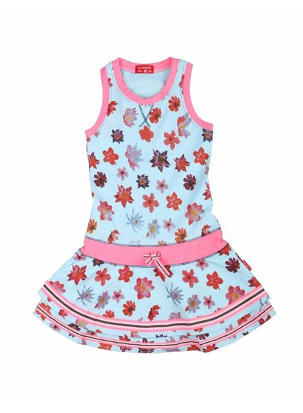 Claesens 1814028 girls dress funky flower
