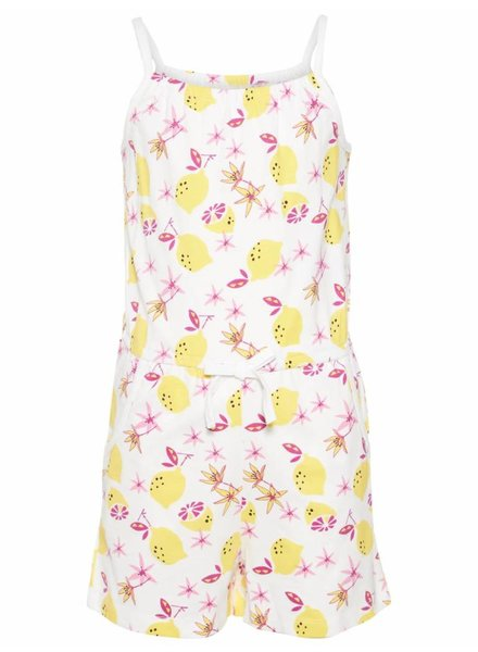 Name it 13152359 nkfvigga strap suit bright white/lemons