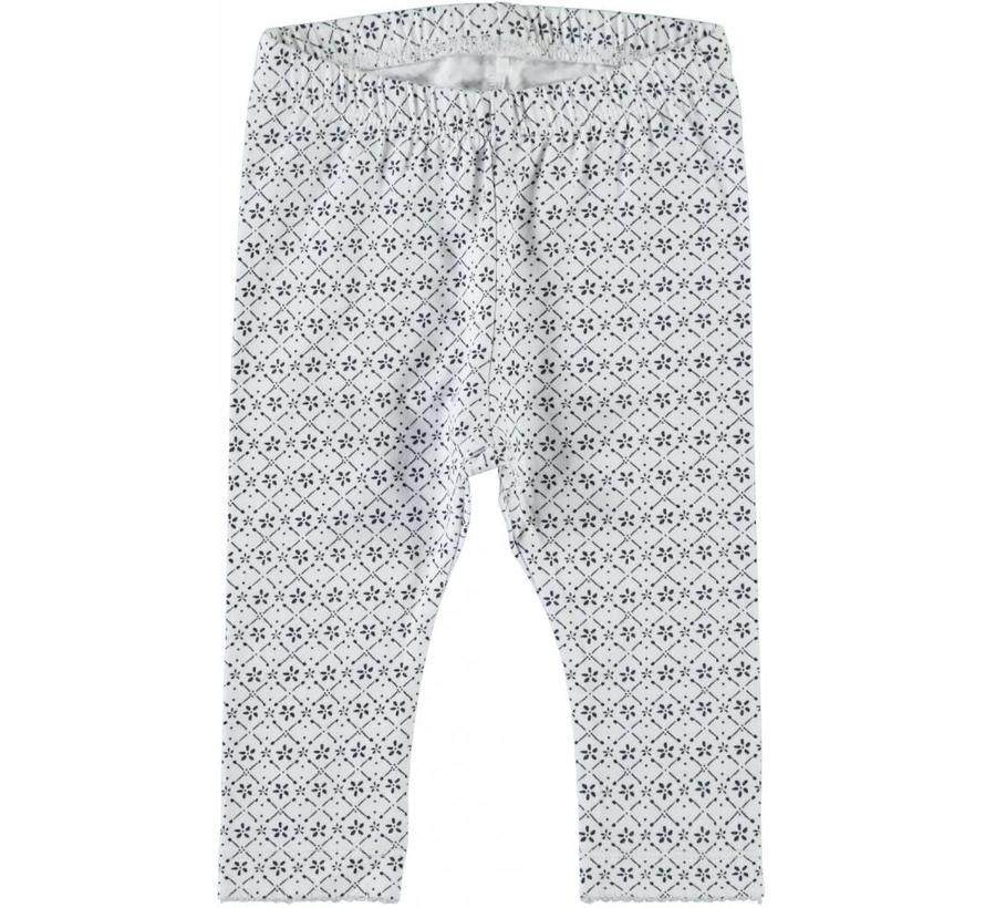13152784 nbfgamille legging bright white