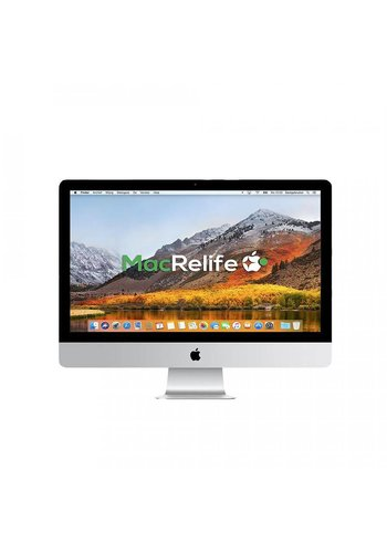 iMac 27 3.1 i5 8GB 1TB HDD + 256GB SSD