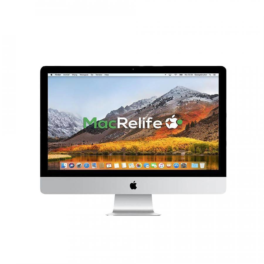 iMac 27 3.1 i5 8GB 1TB HDD + 128GB SSD