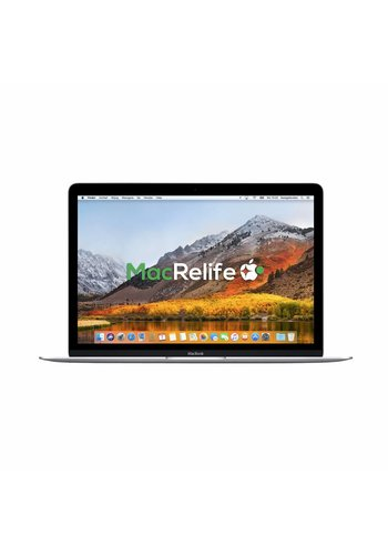 MacBook Retina 12 8GB 512GB SSD Zilver
