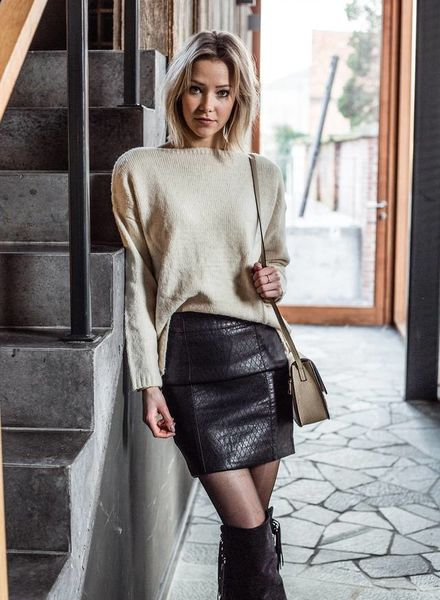 Leather Cool Skirt