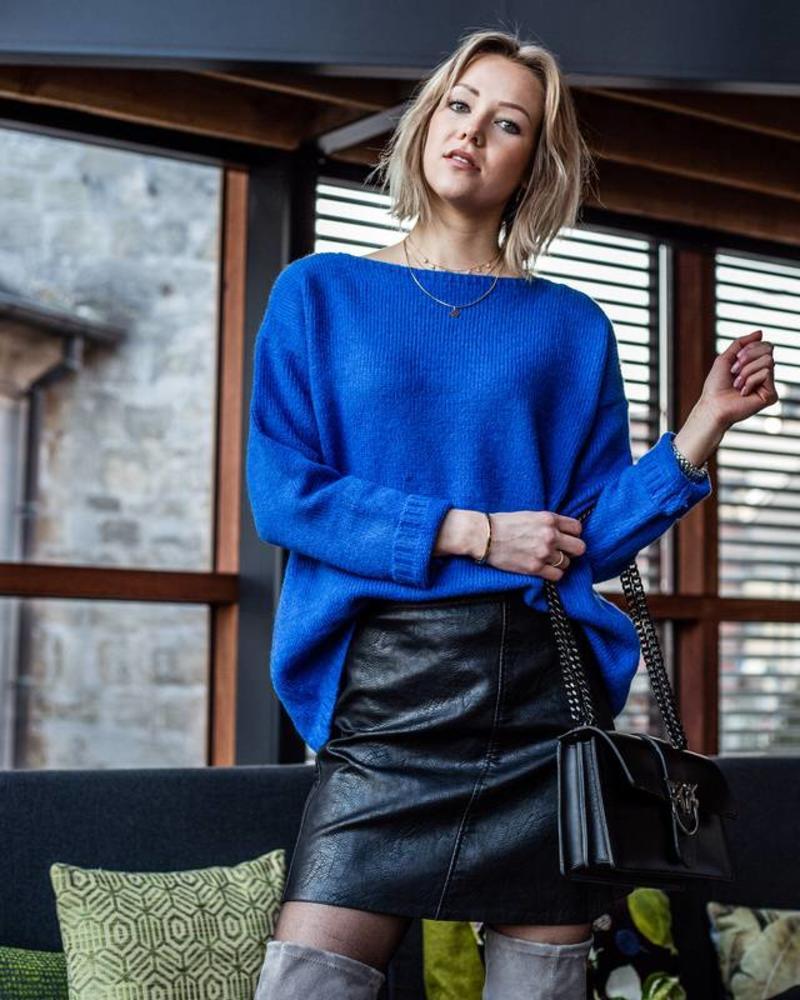 Leather Basic Skirt