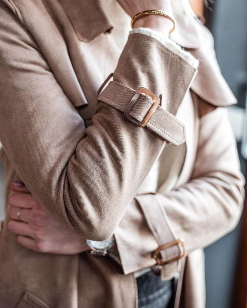 Classic Beige Jacket