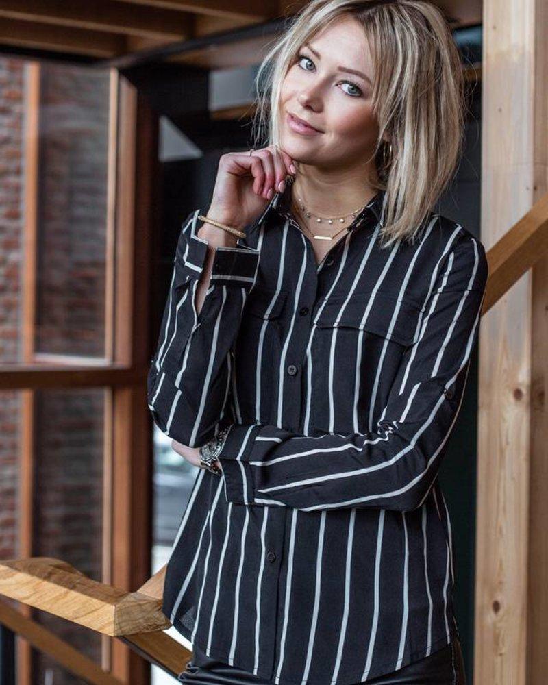 Stripes & Pockets Black