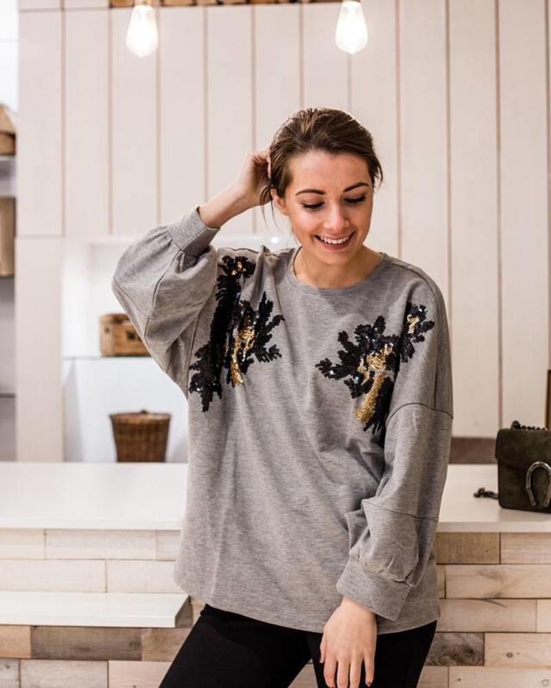 Spring Grey Sweater