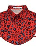 Leopard Collar - Red