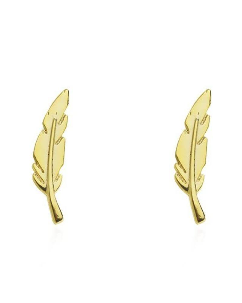 Earline Feather Gold