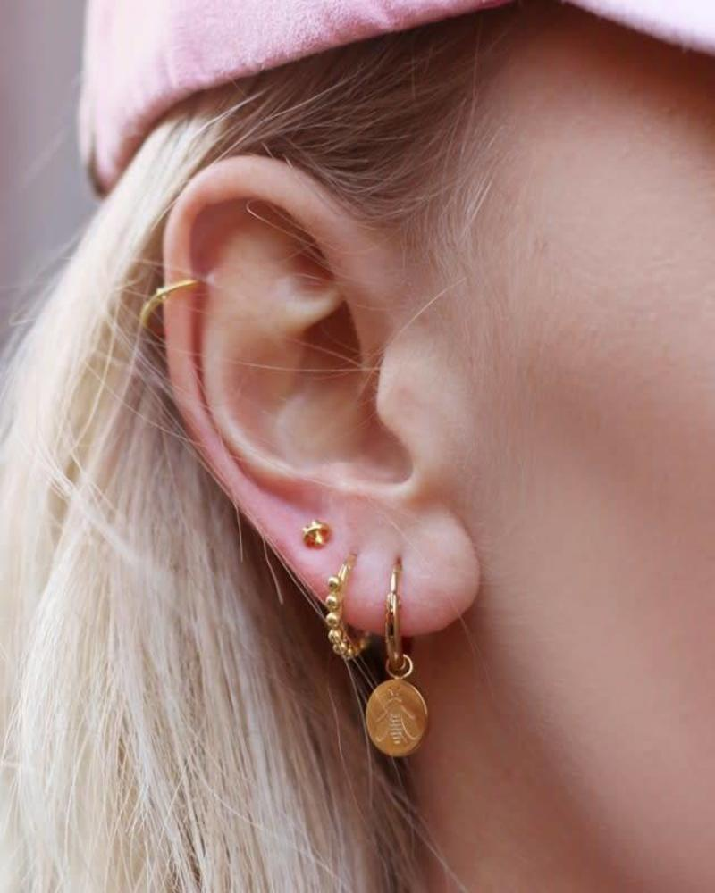 Earstuds Knot Gold