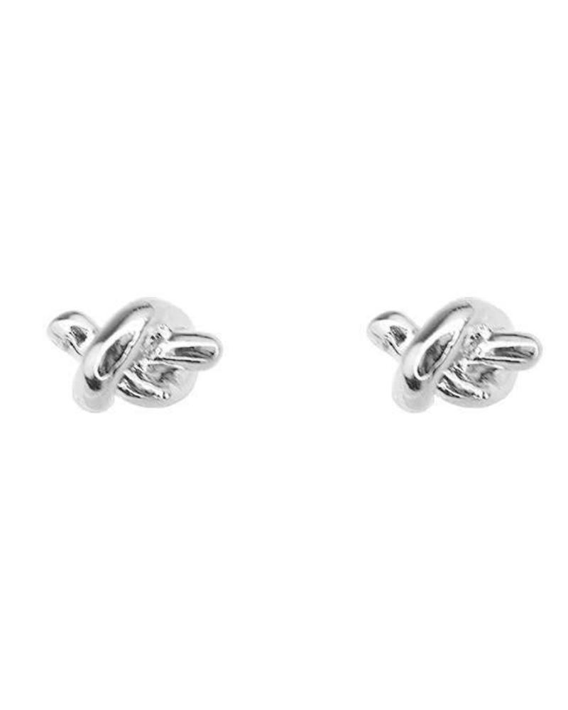 Earstuds Knot Silver