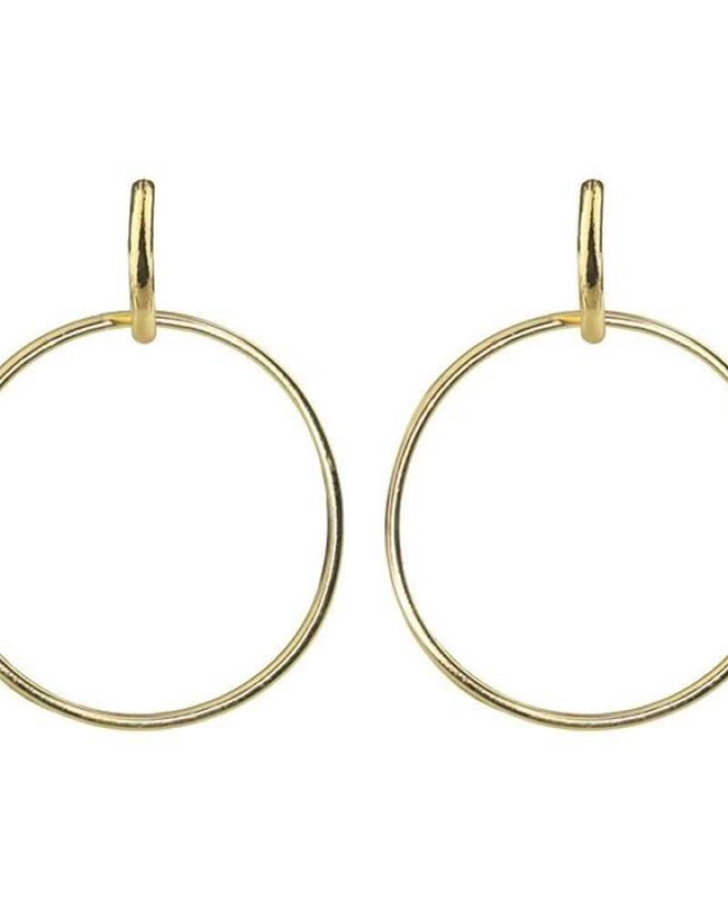 Hoops Pendant Gold