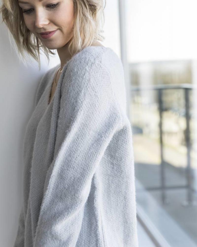 Soft Grey Sweater