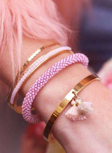 Beads Bangle Gold