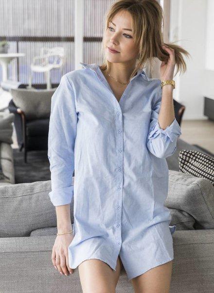 Shirtdress Blue