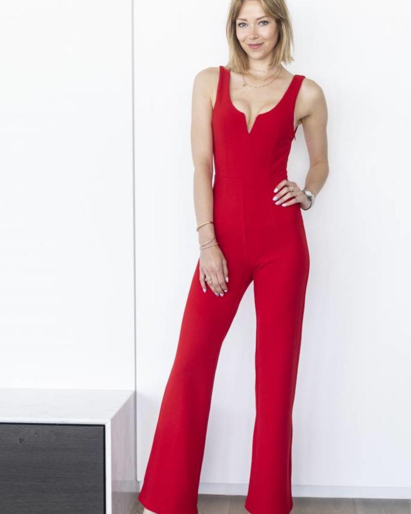 Red Jumpsuit