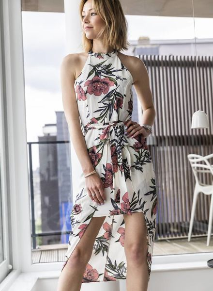 Classy Floral Dress