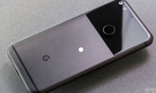Ingebrande schermen Google Pixel 2 XL