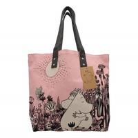 Roze Moomin shopper