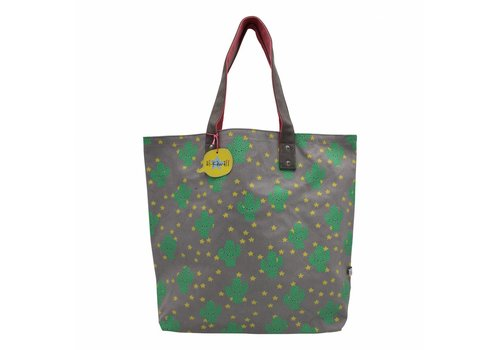 Kawaii cactus shopping bag