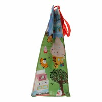 Colorful kawaii shopping bag - Happy Food Town