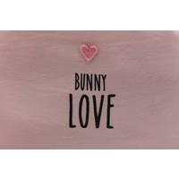 Eef Lillemor rugzak met touwtjes - roze konijn