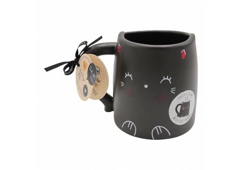 Oh K! Glowing mug - cat