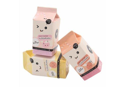 Oh K! Erasers - milk carton