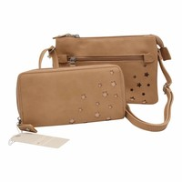 Shoulder bag Genshii Fabulous - cognac
