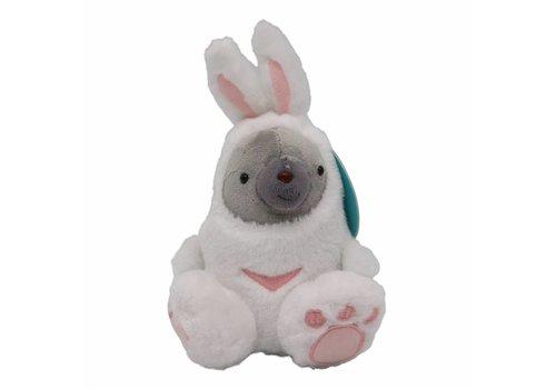 Duma Pluche Duma in konijnenpak - 18 cm