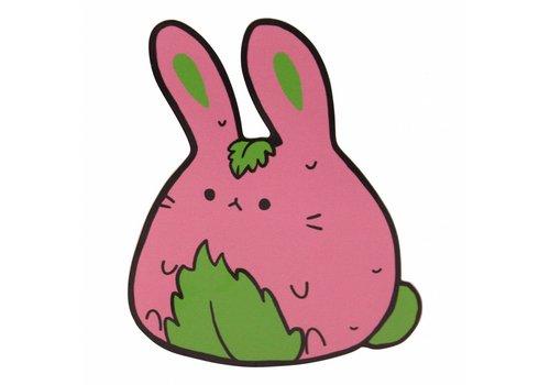 Frilly Pops Sakura Mochi Bunny - sticker