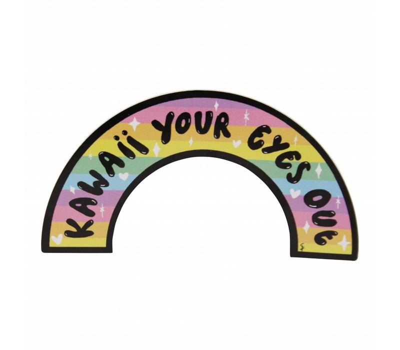Kawaii your eyes out - sticker