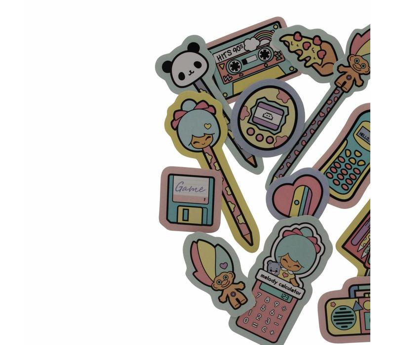 Chic Kawaii - stickers set