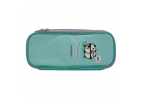 Moongs Moongs pencil case - mint green