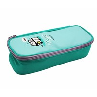 Moongs pattern pencil case - mint green