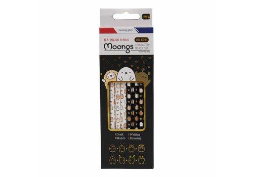 Moongs Moongs B-pencils set