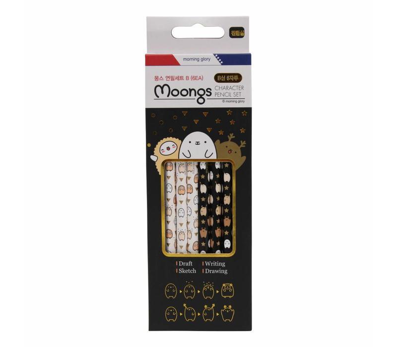 Moongs B-Pencils set