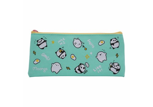 Moongs Moongs pencil case small - turquoise
