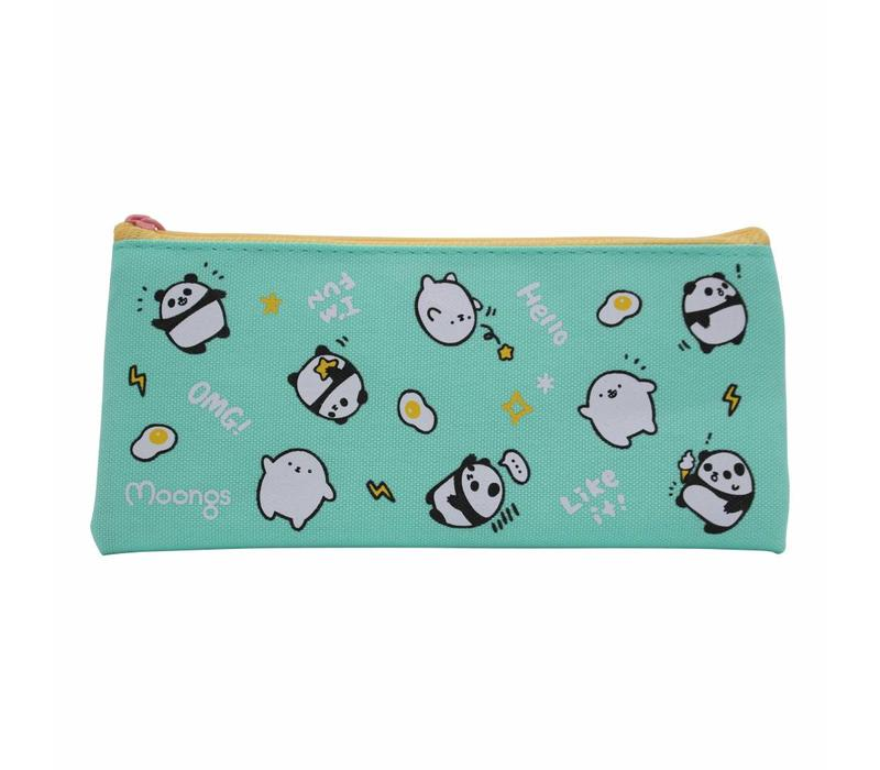 Moongs pencil case - turquoise