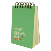 Moongs drawing book small- mintgreen