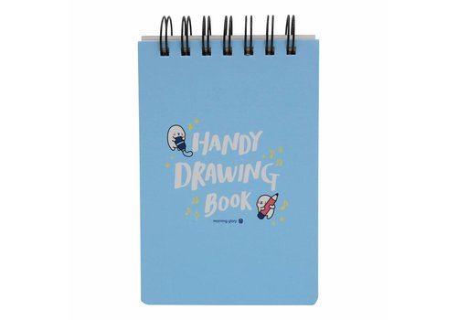 Moongs Moongs drawing book - blue