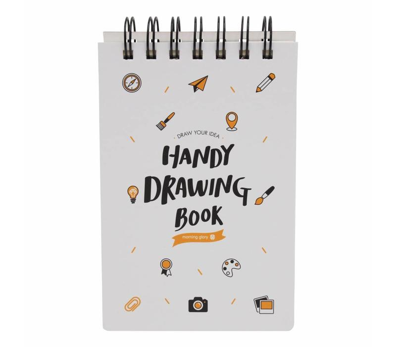 Moongs drawing book small-white