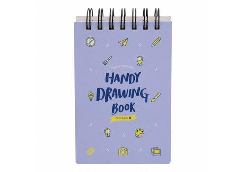 Moongs Moongs drawing book - purple
