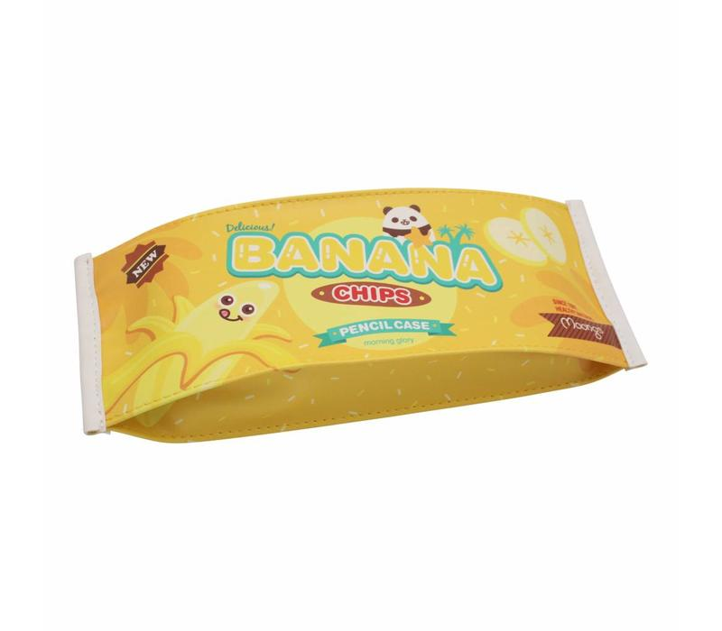 Moongs snack pencil case medium - banana